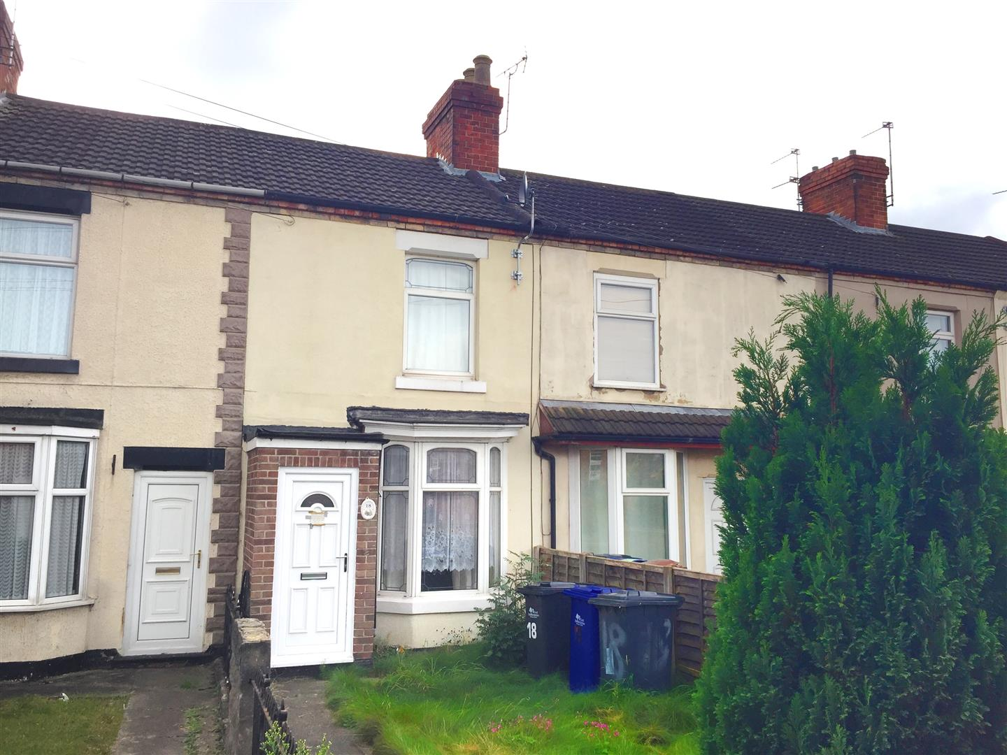 3 Bedrooms Terraced House for sale in Lansdowne Terrace, Burton-On-Trent